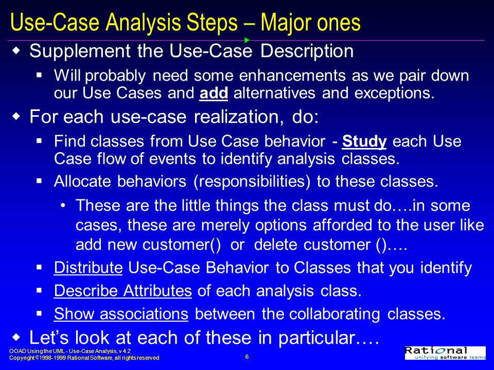 steps in case analysis What steps do you go through to analyze a case the first step you would undertake is a situation analysis next, you have to define what you believe the major problem is.
