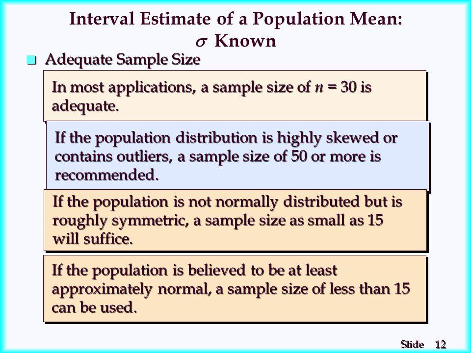 Chapter 8 - Interval Estimation - ppt download