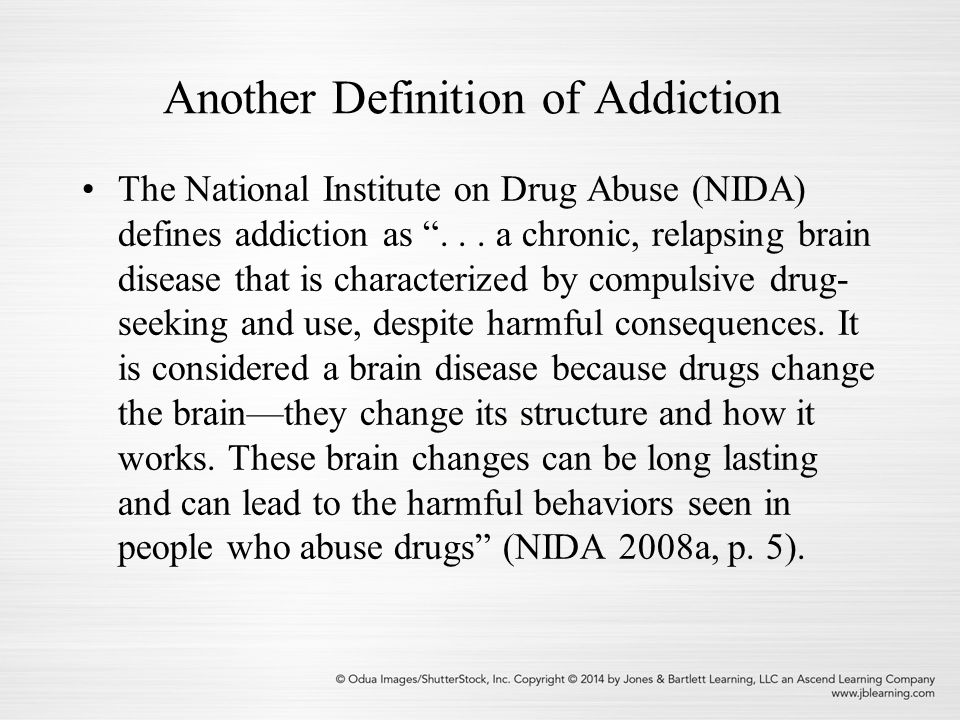Dmca: Explaining Drug Use And Abuse Chapter 2