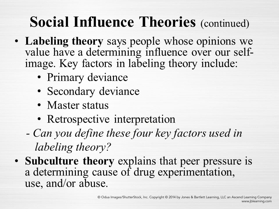 applying social influence theories Social psychologists are interested in all aspects of personality and social interaction, exploring the influence of interpersonal and group relationships on human behavior.