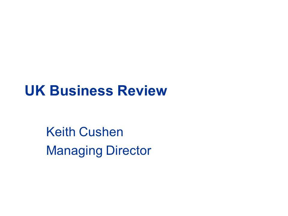 Keith Cushen Managing Director