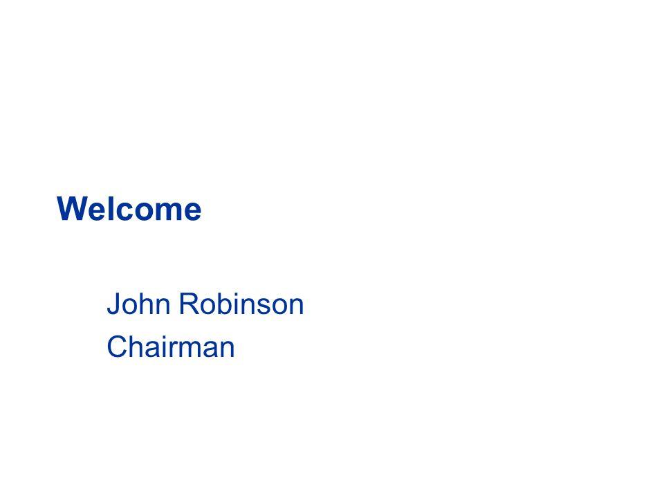 John Robinson Chairman