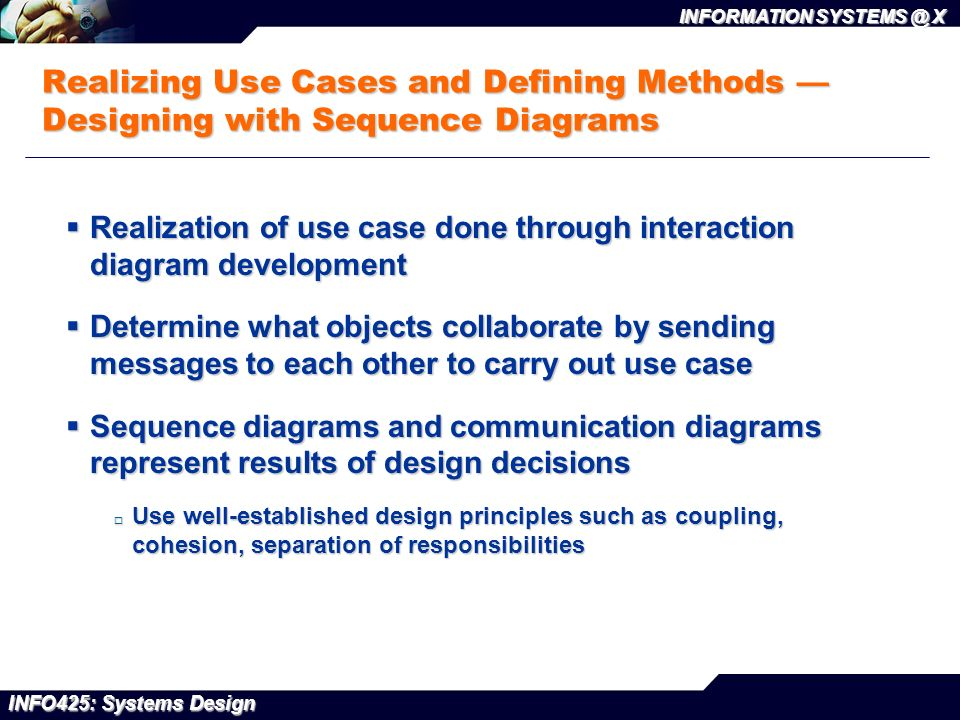The object oriented approach to design ppt video online download realizing use cases and defining methods designing with sequence diagrams ccuart Image collections