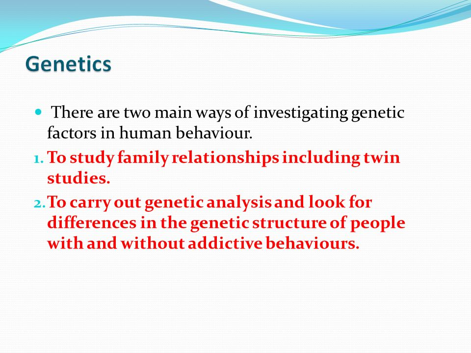 genetics and human behaviour 1 genetics and human behaviour: the ethical context (a report by the nuffield council on bioethics) 2002 summary: below is a summary of this 258 page report which can be downloaded in full as a pdf.