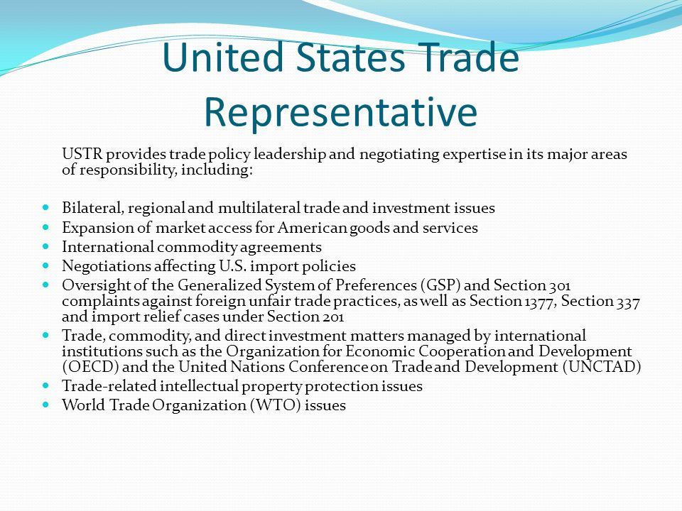 international trade agreements and lobbying in the united states Welcome to the trade data center here you can explore data resources that illustrate the impact of trade policy on jobs,  chinese investment in the united states.