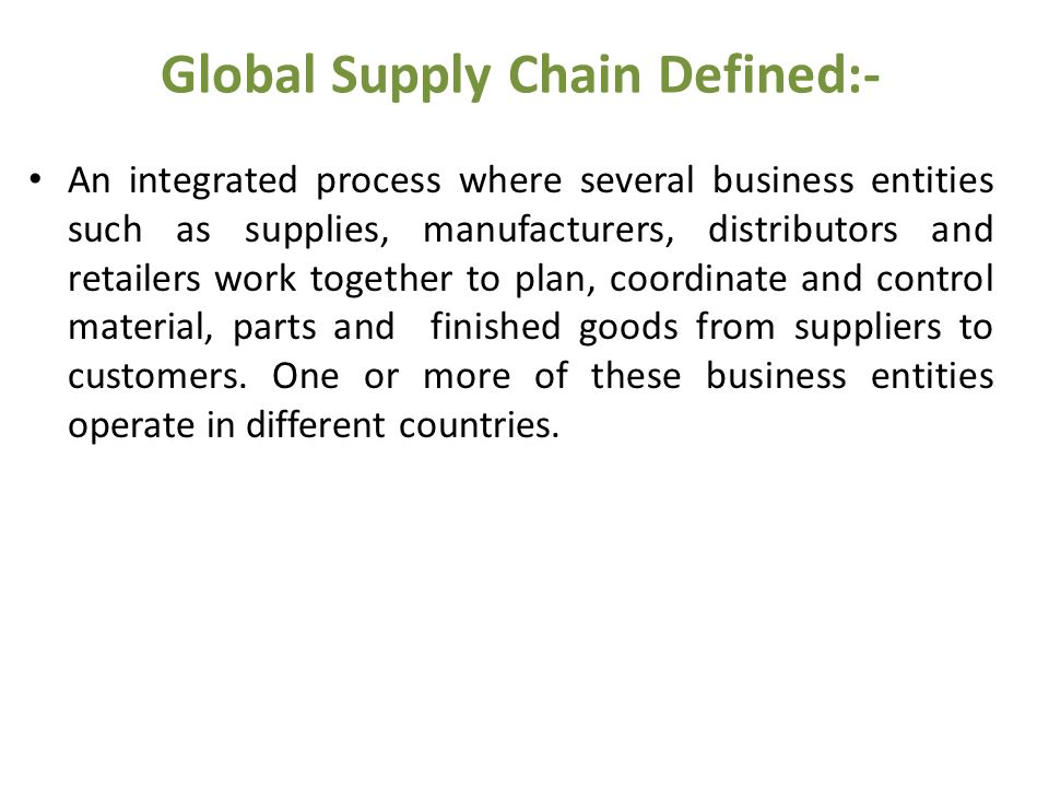 Dps 406 global supply chain management ppt download 37 global malvernweather Choice Image