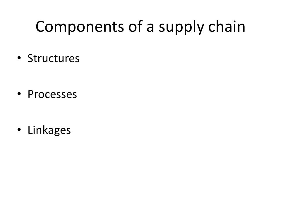 Supply-chain linkages and operational performance: A resource-based-view perspective