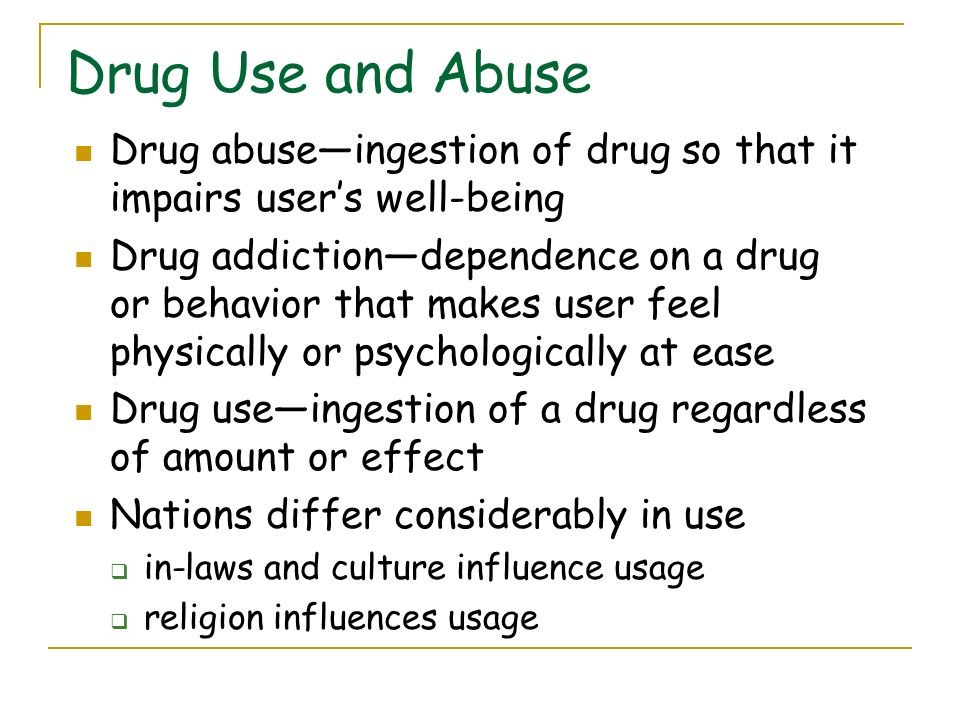 musical influence on drug abuse The music video industry should be encouraged to produce videos and public service messages with positive themes about relationships, racial harmony, drug avoidance, nonviolence, sexual abstinence, pregnancy prevention, and avoidance of sexually transmitted diseases.