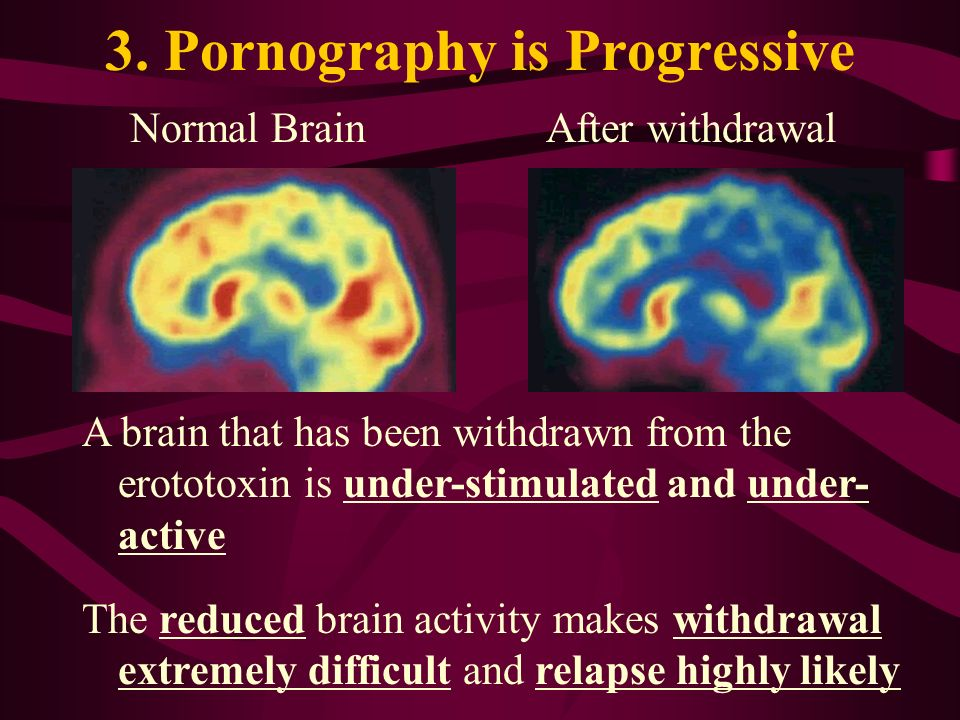 3. Pornography is Progressive
