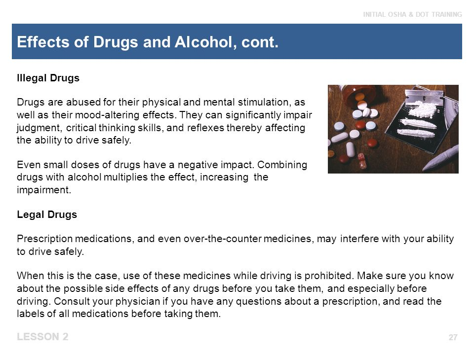 effects of prohibited drugs This list of illegal drugs shows the methods of use, street names, and effects of various kinds of illegal narcotics this list of illegal drugs shows the methods of use, street names, and effects of various kinds of illegal narcotics toggle navigation (800) 407-7195 addiction.