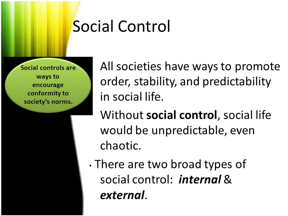 Social Control: The Meaning, Need, Types and other details