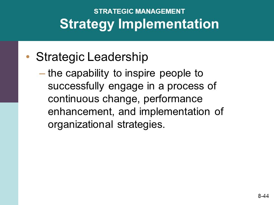 strategic change and implementation of ibm Comprehensive, end-to-end it strategy services: we help address all aspects of it change—from initial opportunity assessment, planning and strategy development through implementation.