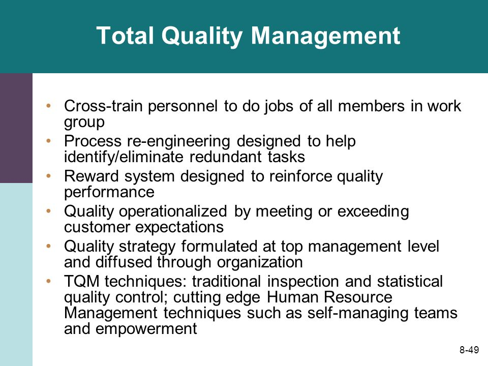 human resource and total quality management The society for human resource management (shrm) is the world's largest hr professional society, representing 285,000 members in more than 165 countries.