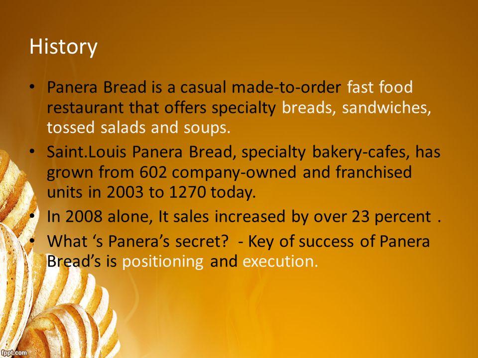 case study panera bread essay