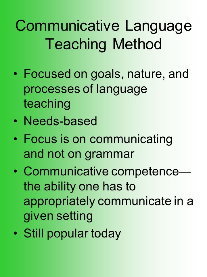 goal of language teaching is to The goal of formative assessment is to monitor student learning to provide ongoing feedback that can be used by instructors to improve their teaching and language.