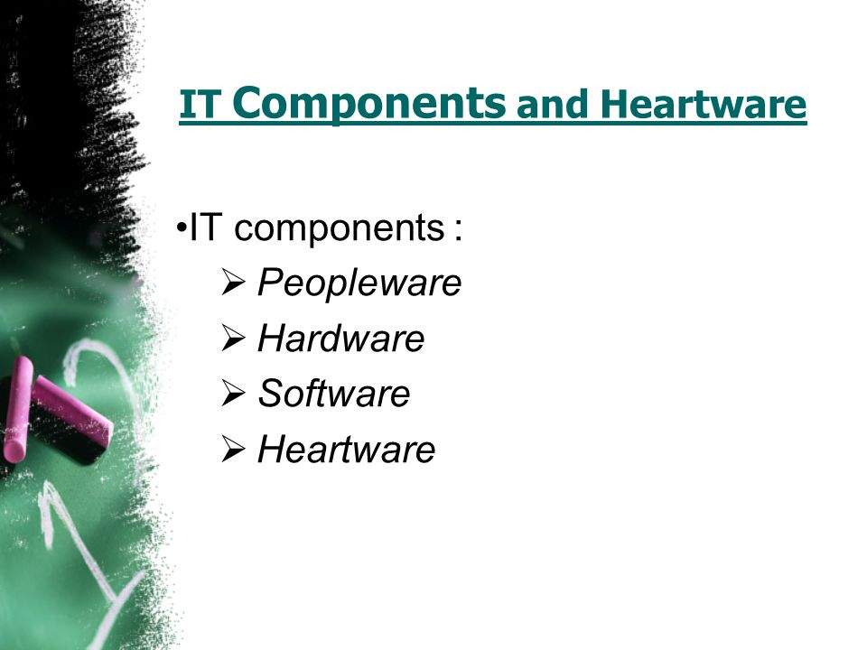 hardware and software components of a computer pdf