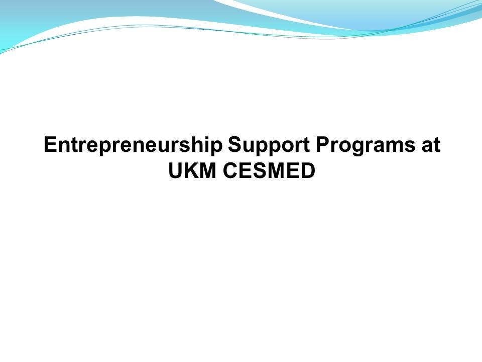 Entrepreneurship Support Programs at