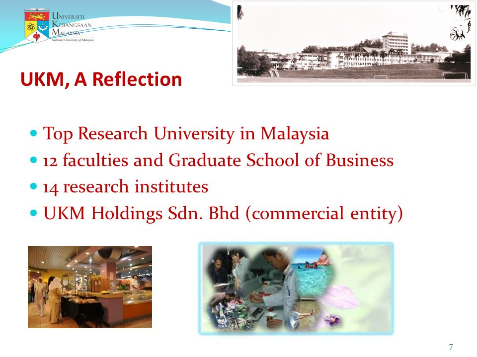 UKM, A Reflection Top Research University in Malaysia
