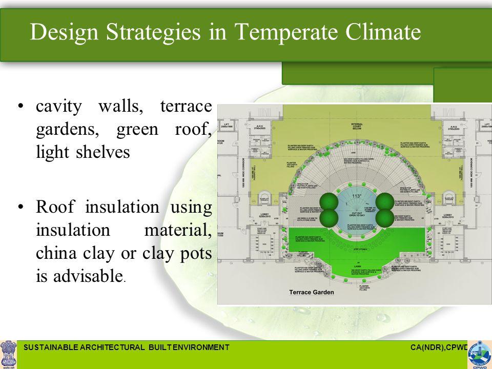 Design Strategies In Temperate Climate