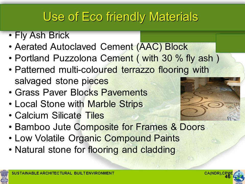 Sustainable Architectural Built Environment Ppt Video