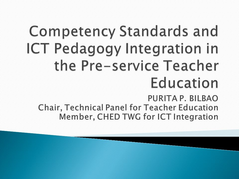 integration of ict in teacher education To the use of ict in teacher education and ict in the school context in his chapter th e challenge of ict integration in hong kong education - a.