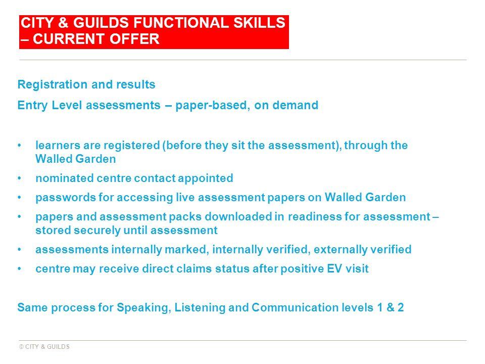 Functional Skills June 2011 City Guilds Ppt Video Online Download