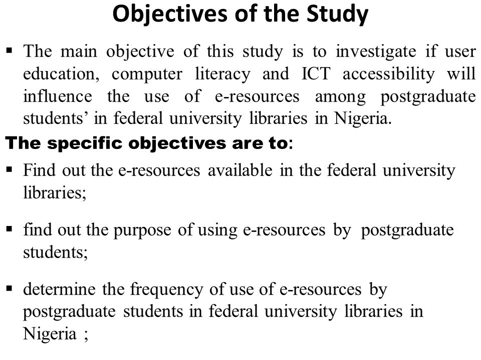 objectives of internet addiction Objectives: first objective is  whether internet addiction exists,  2009 in medline and pubmed using the key word computer and video game addiction over the.