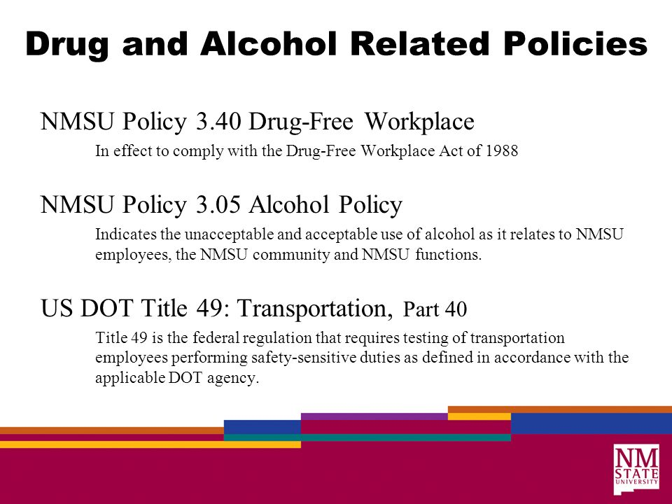 drug and alcohol testing supervisor training ppt video online download drug testing policy template