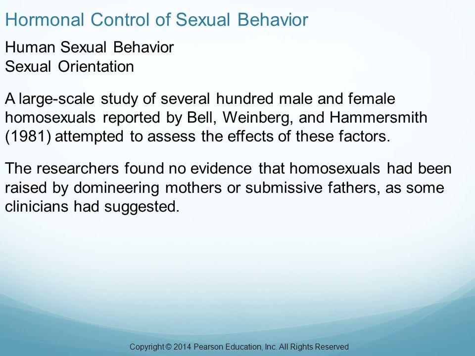 Kinds of permissive sexual behavior scales