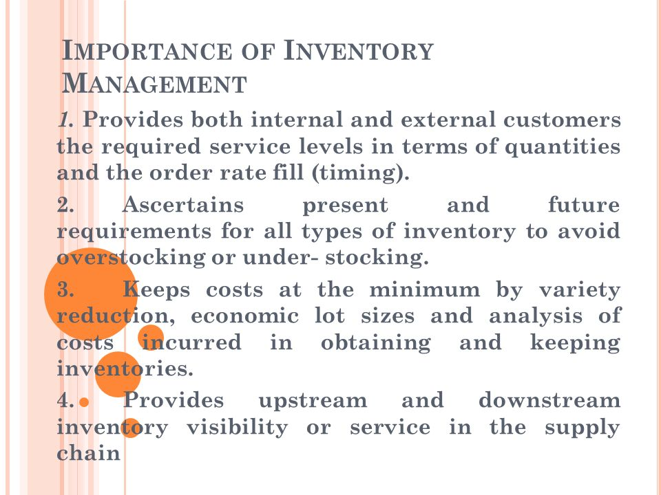 What Is the Importance of Inventory Management?