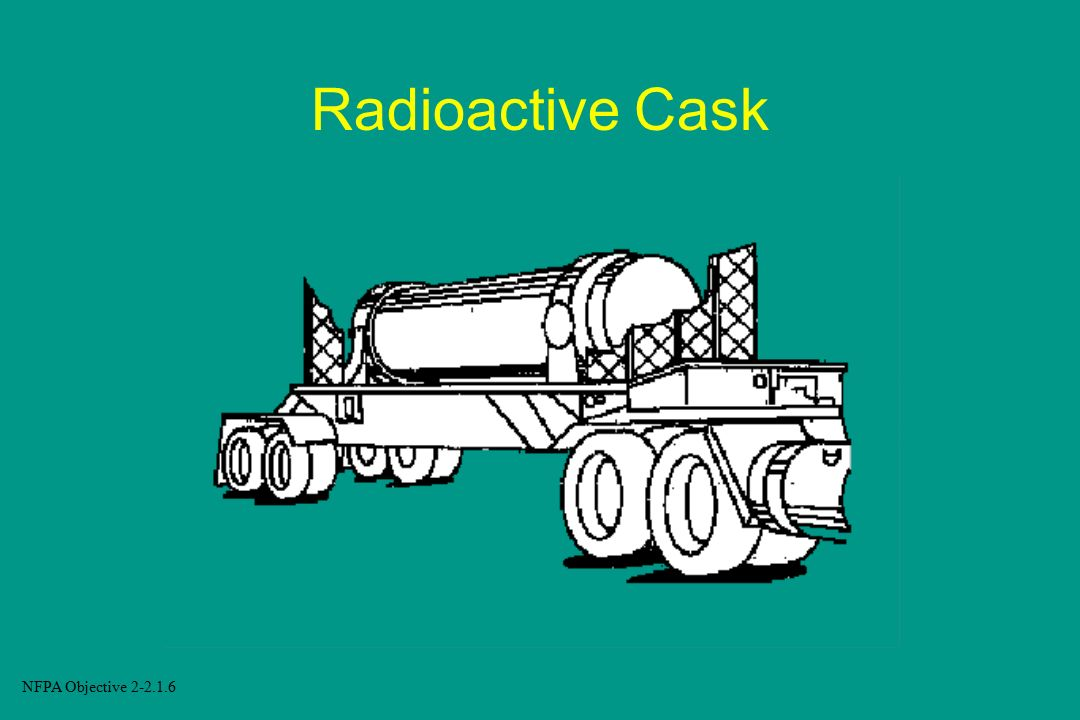 Radioactive Cask NFPA Objective