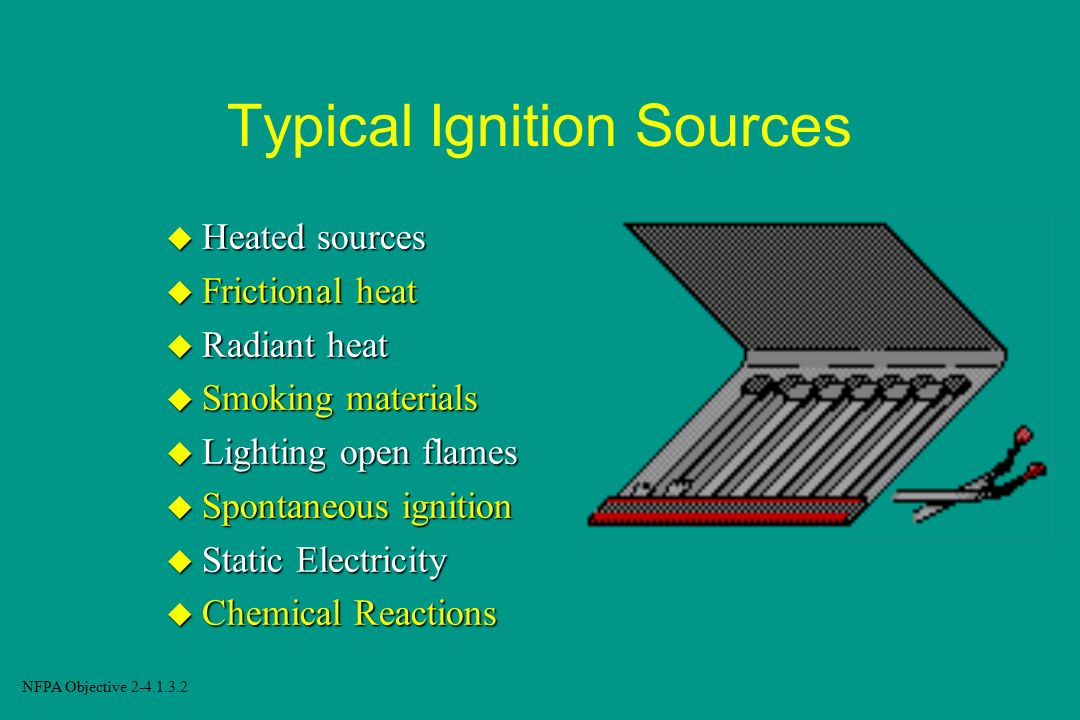 Typical Ignition Sources