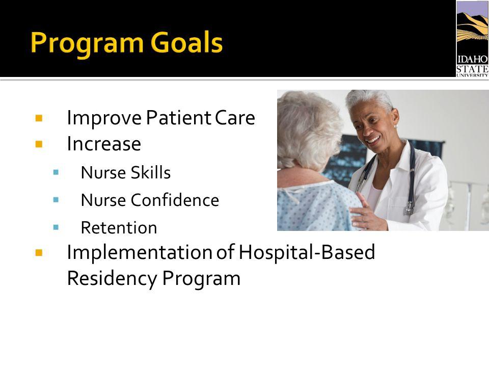 Overview of nurse residency hospital program