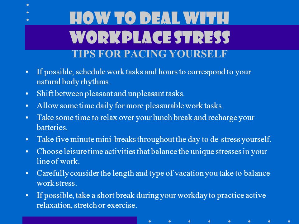 thesis stress work Job stress this research paper college essay examples and free essays are available now on what is job/ work/occupational stress job stress can.
