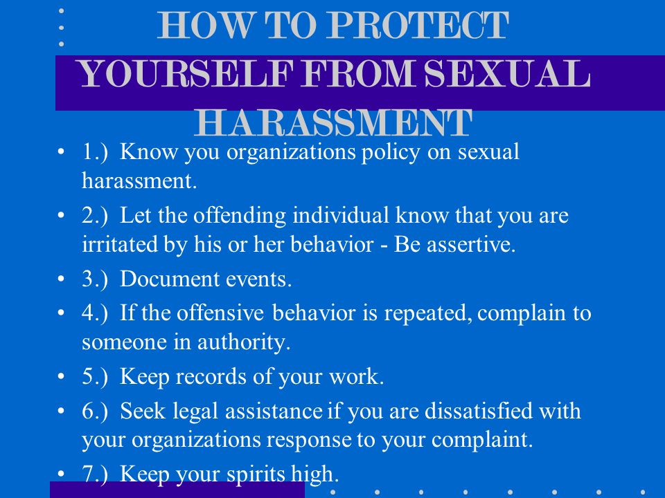 SEXUAL BEHAVIOR & HARASSMENT POLICIES - Messiah