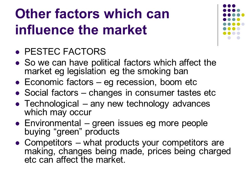 political factors that affect the grocery industry External factors that effect retail industry • social - how consumers, households and communities  and global economic factors • political - how changes.