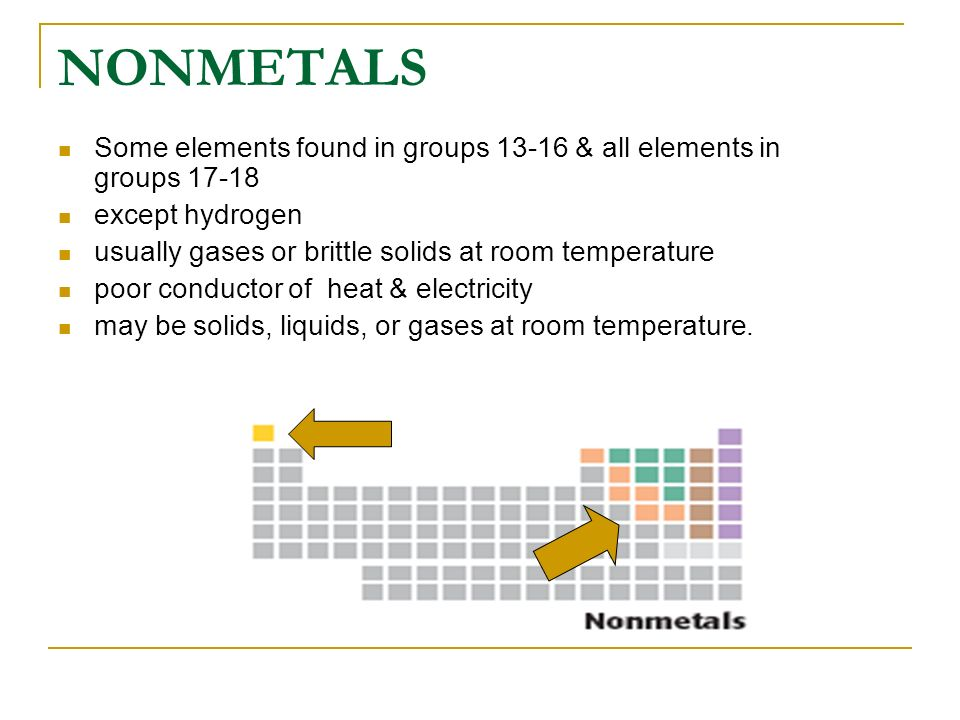 What State Are Most Metals At Room Temperature