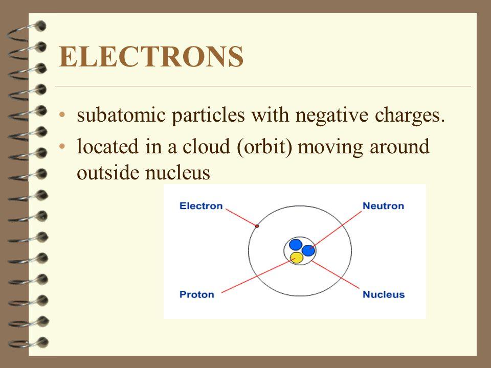 3 subatomic particles