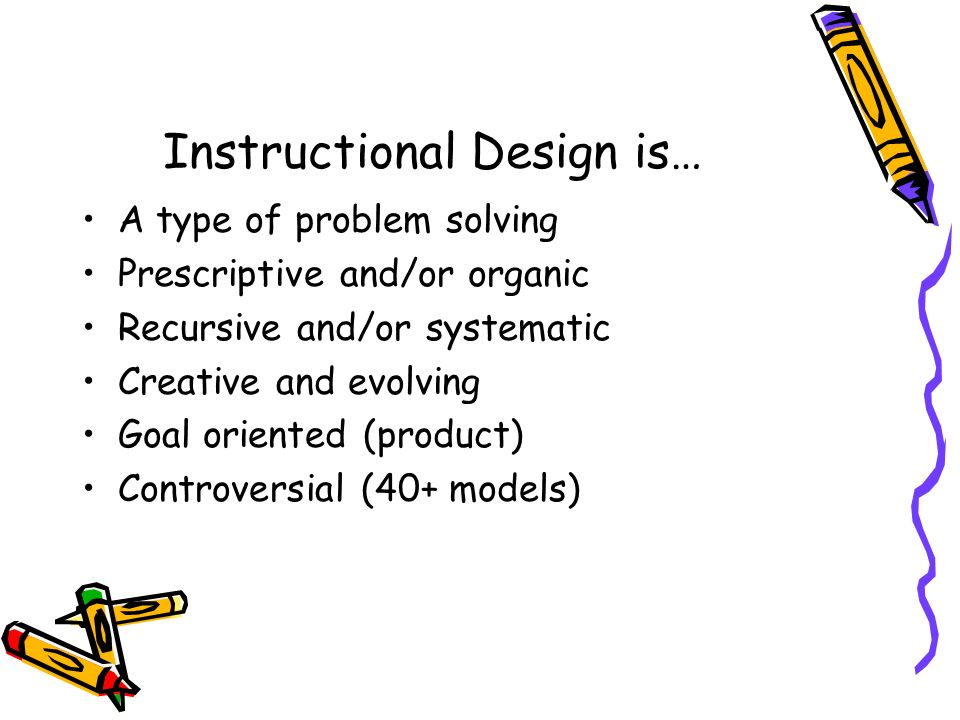 instructional design principles definition