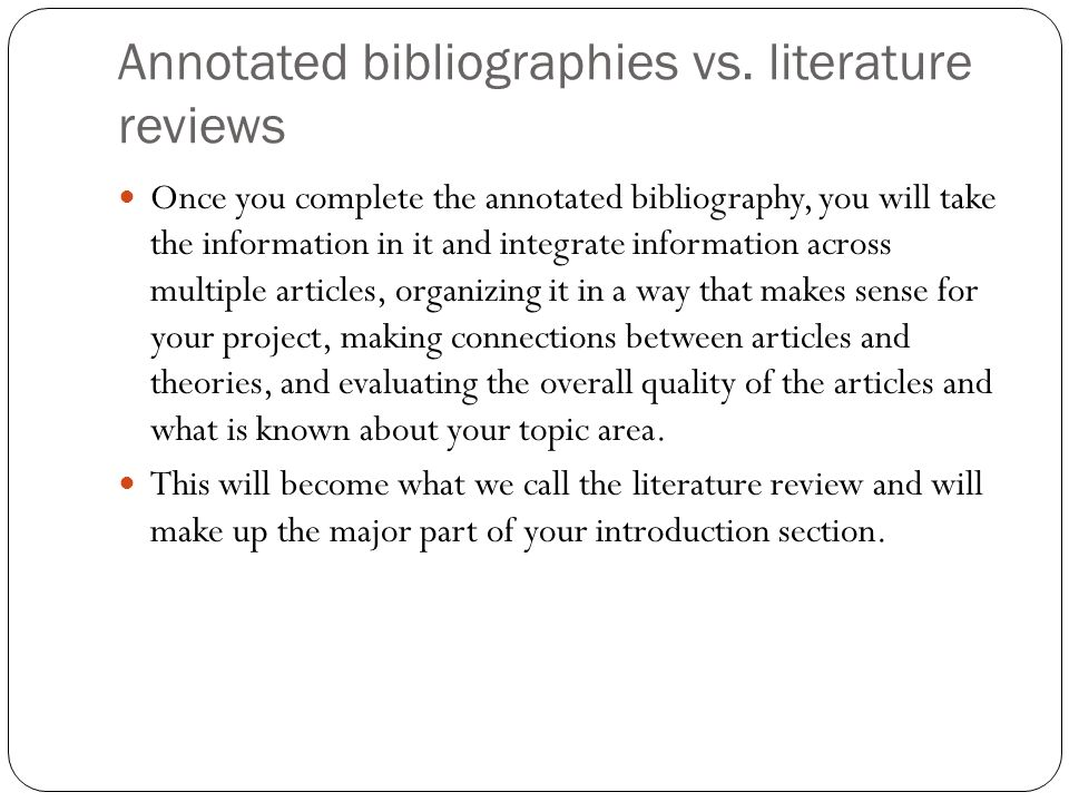 how to choose articles for literature review