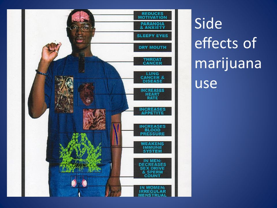 the after effects of marijuana to the body Marijuana affects the body, it can be used as medicine, and marijuana can be addictive marijuana can simply increase the user's happiness, but it can also mess with the brain in some ways marijuana is a hullicinogen which is a substance that deceives how the mind perceives the world.