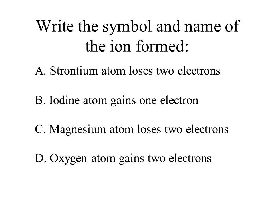 Iodine Symbol Of Ion Periodic Table Iodine Atomic Number Images