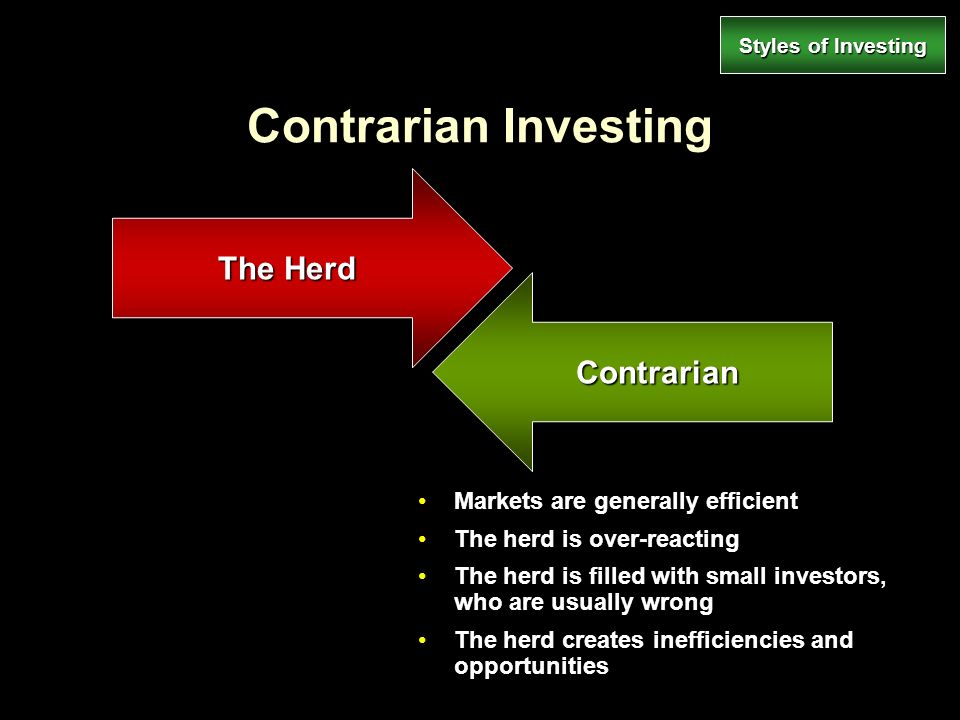 contrarian and momentum investment strategies First, momentum investing is a high turnover, high-cost strategy  if you are of a  contrarian bent, this underperformance may be reason enough.