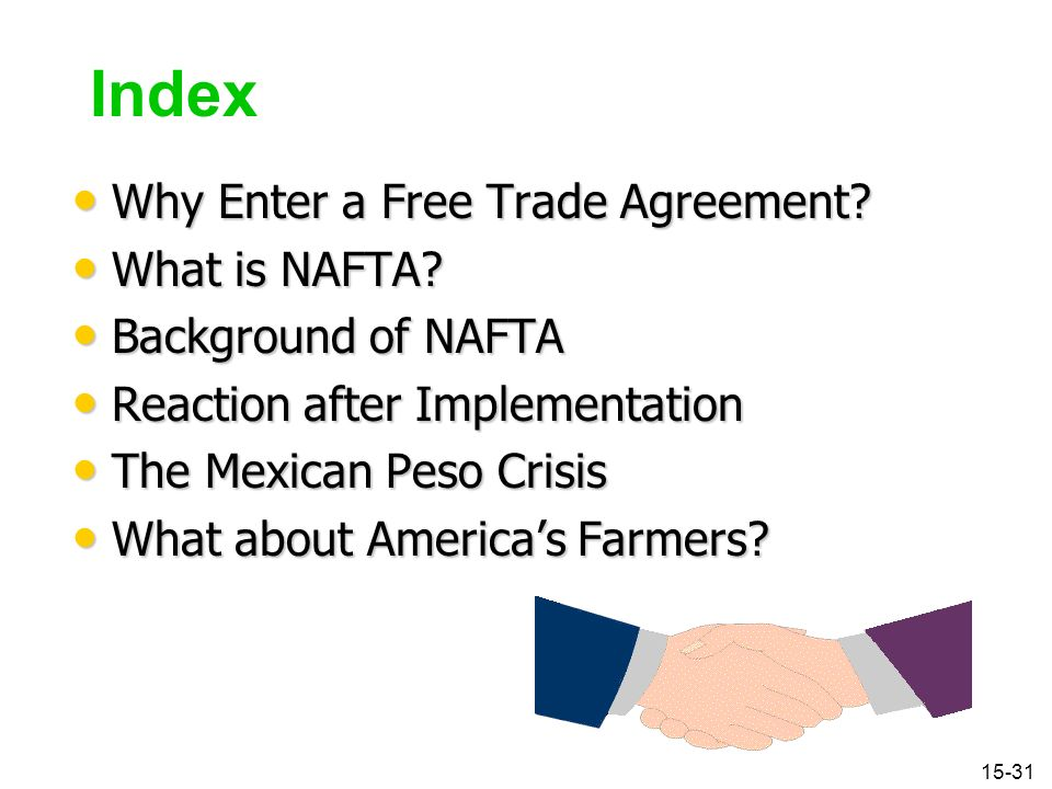 Nafta is a trade agreement between quizlet : Oil futures