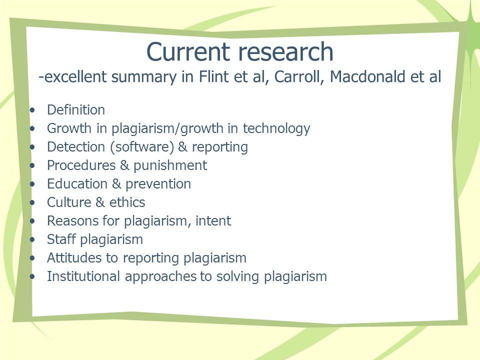 Current research -excellent summary in Flint et al, Carroll, Macdonald et al
