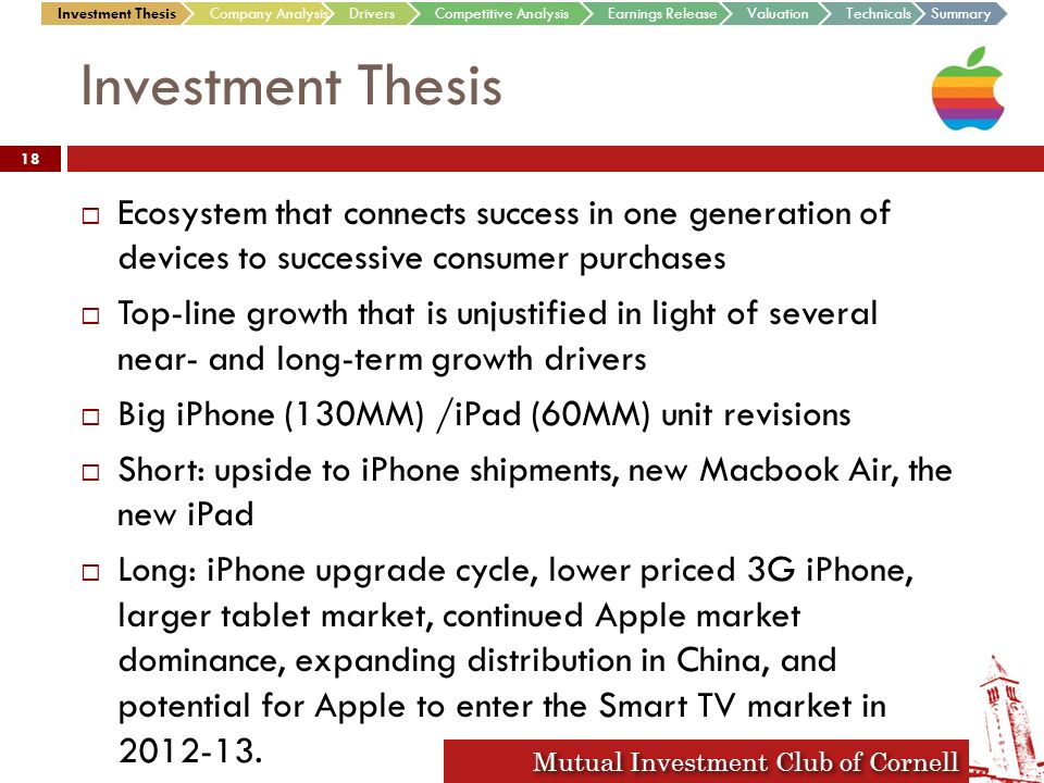 """thesis on investment analysis Performance evaluation and ratio analysis of examiner: bengt kjellén master""""s thesis in business owner normally has a lot of investment in the."""