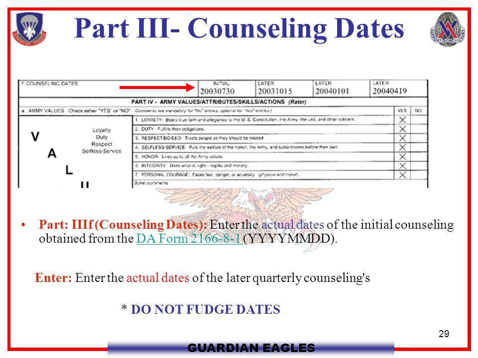 Initial Counseling Coursework Academic Service