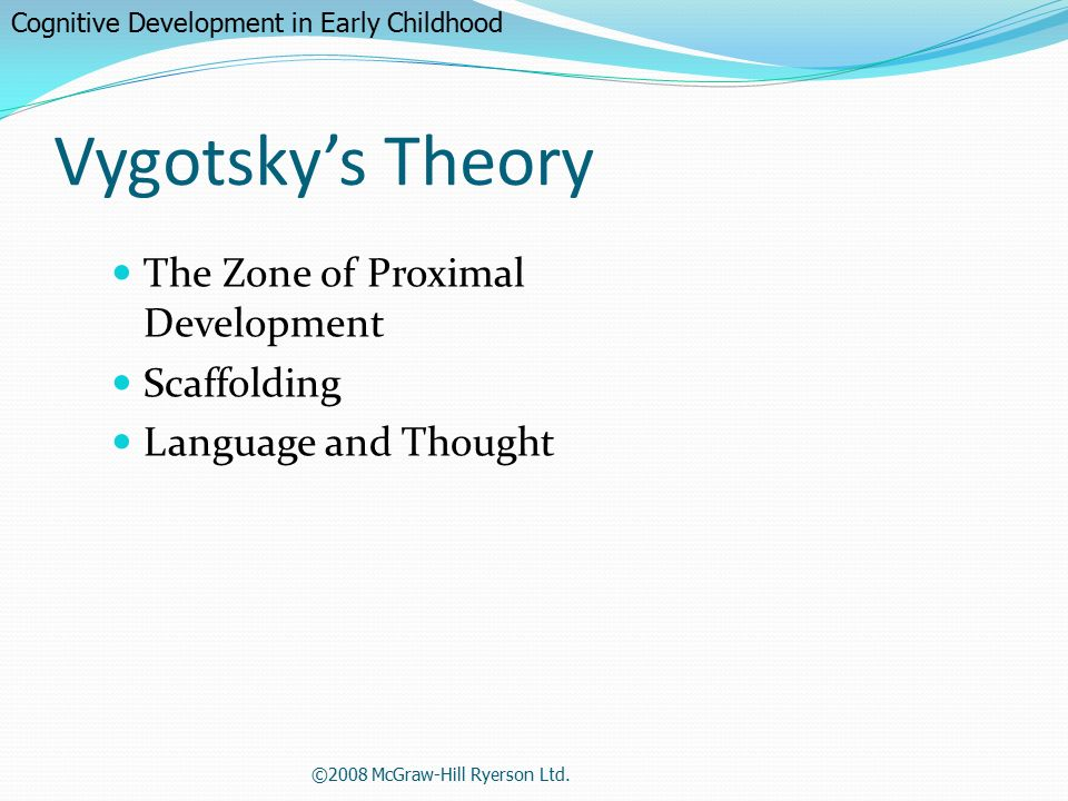 child development scaffolding This lesson will focus on two concepts: zone of proximal development and scaffolding the zone of proximal development, commonly referred to as zpd, is an important principle of vygotsky's work child and adolescent development.