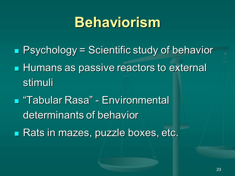 functions of scientific psychology Originally answered: what is functionalism in psychology the short answer: functionalism is an early school of psychology that focus on the purpose (or function) of the human conciousness and how it leads to adaptive behaviour it is an attempt to apply empirical methods in studying the conciousness the long answer: fuctionalism was.