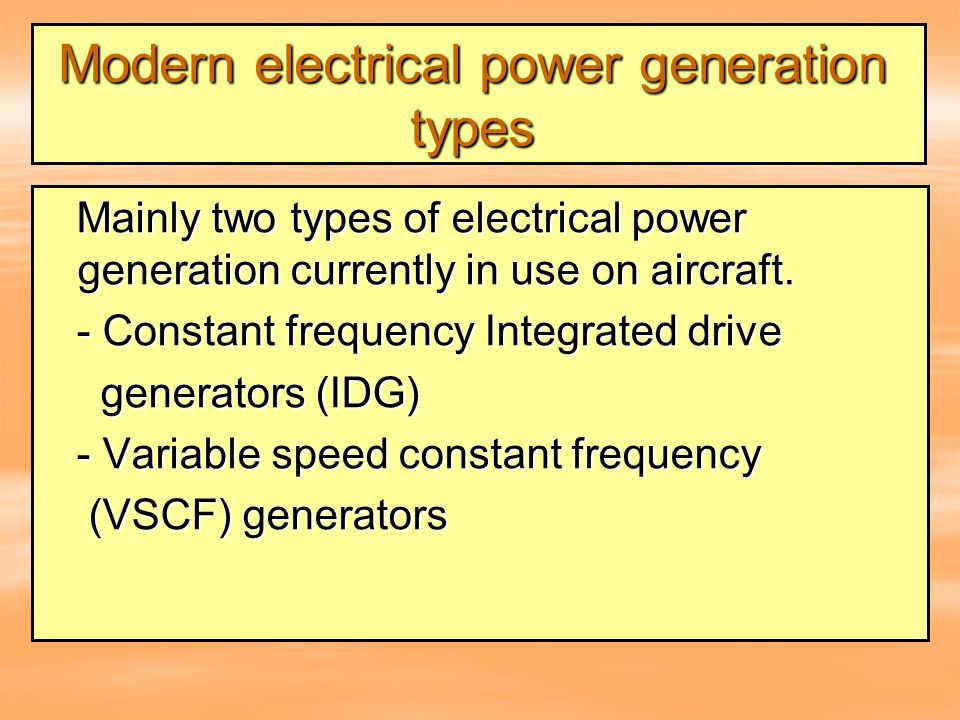 the two typologies of power generation systems in modern aircrafts A fly-by-wire flight system replaces a traditional hydraulic/bleed air power systems in favor of electric servos to manipulate control surfaces with a new name and a new country, learjet pumped out 104 aircraft from its facility in kansas in just two years of production, ending in 1966 the plane could carry.